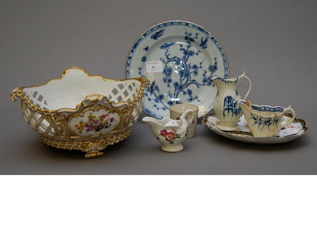 A group of various ceramics