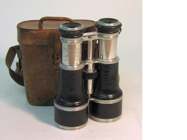 A pair of presentation Binoculars,