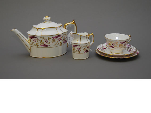 A Royal Crown Derby tea service