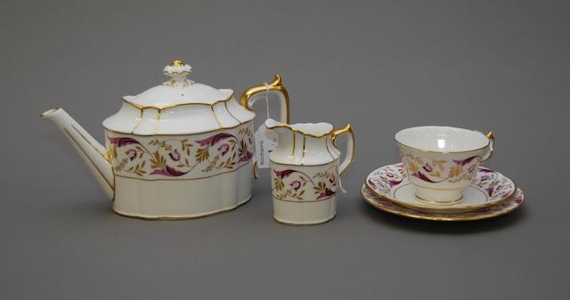 A Royal Crown Derby tea service