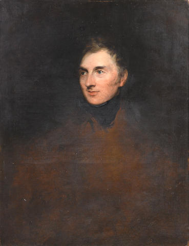 Sir Thomas Lawrence (Bristol 1769-1830 London) Portrait of General Sir George Murray, unfinished