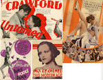 A collection of 1920's and 1930's Heralds, relating to Hollywood 'Golden Age' actresses Greta Garbo, Bette Davis, Marlene Dietrich, Joan Crawford and Jean Harlow, titles including:27