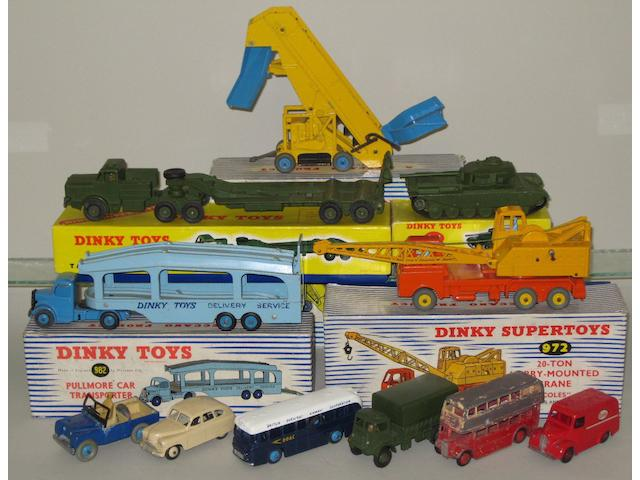 Dinky military and others