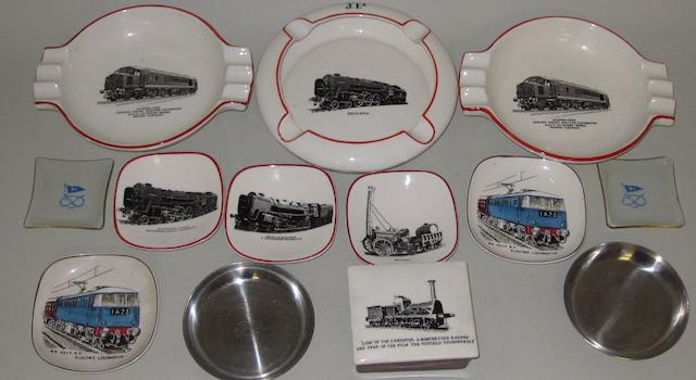 Various railway related items
