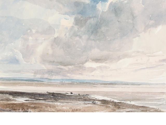Oliver Hall (British, 1869-1957) Morecambe Sands