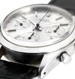 Rolex. A fine and rare stainless steel chronograph wristwatchRef:6238, Case No.1226269, Circa 1964