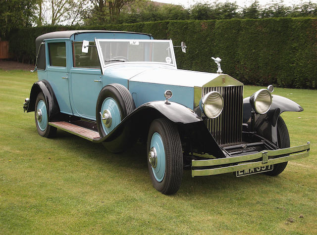 1930 Rolls-Royce 40/50hp Phantom II Sedanca De Ville,