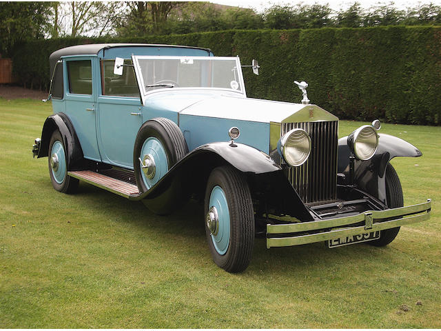 Originally the property of Mrs Emily Macy Brewster Frelinghuysen,1930 Rolls-Royce 40/50hp Phantom II Sedanca de Ville  Chassis no. 177XJ Engine no. BG95