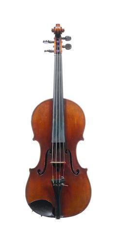 An interesting French Violin circa 1880 (1)
