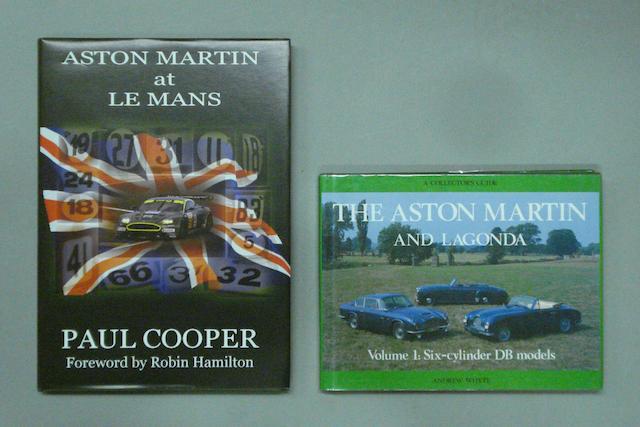 Paul Cooper: Aston Martin at Le Mans;
