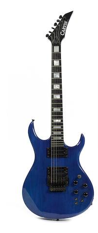A Carvin DC200 guitar,