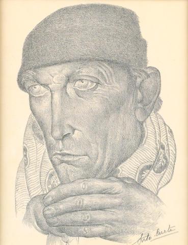 Antoine (Anto) Carte (Belgian, 1886-1954) Portrait of a man