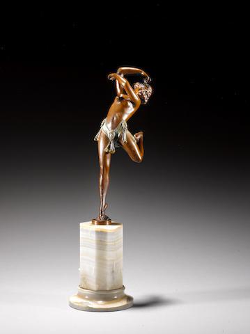 Bruno Zach A patinated bronze Figure of a Dancer, circa 1925