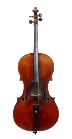 A Mirecourt Cello of the Derazey School circa 1870 (3)