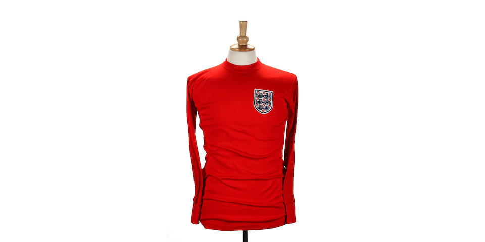 Geoff Hurst's spare 1966 World Cup Final shirt