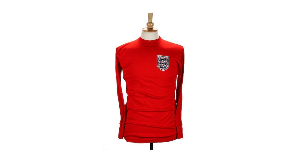 Geoff Hurst's spare 1966 World Cup Final shirt