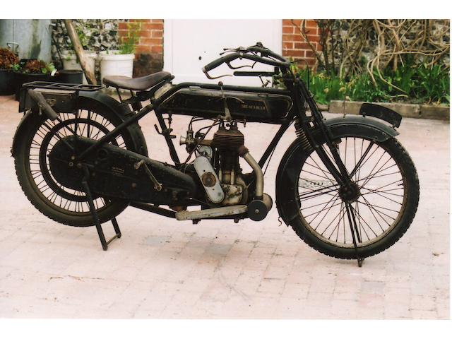 Single family ownership from new,c.1916 Sunbeam 3½hp Frame no. 3880 Engine no. 302M