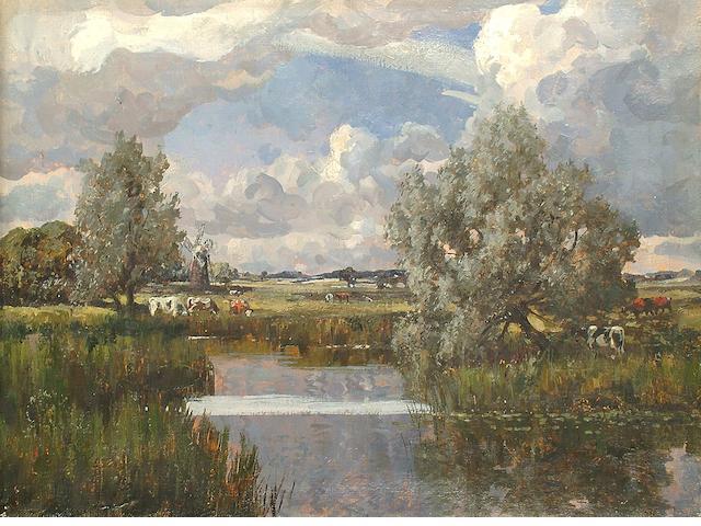 Campbell Archibald Mellon (British, 1876-1955) Landscape