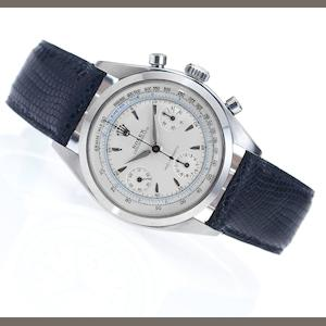 Rolex. A fine and historically interesting stainless steel chronograph wristwatch Oyster Chronograph, Anti-Magnetic, Ref:6234, Case No.530410, Made in 1959