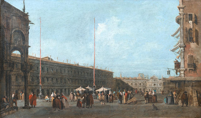 Studio of Francesco Guardi (Venice 1712-1793) Saint Mark's Square, Venice