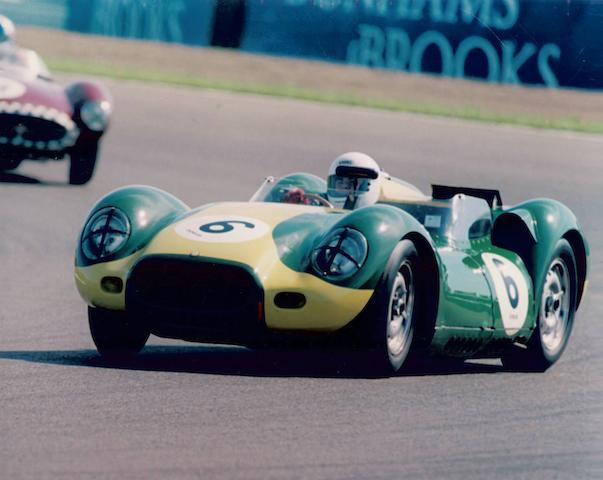 The ex-Yoshiyuki Hayashi,1958 model/1980s assembled 3.8-litre Lister-Jaguar 'Knobbly' Competition Sports Two-Seater  Chassis no. see text Engine no. KH 6489-8