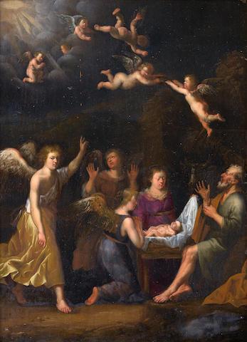 François Verwilt (Rotterdam 1620-1691) The Nativity