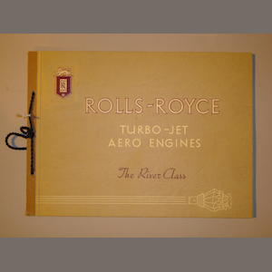 A Rolls-Royce River Class Turbo-Jet Aero Enhgines catalogue,