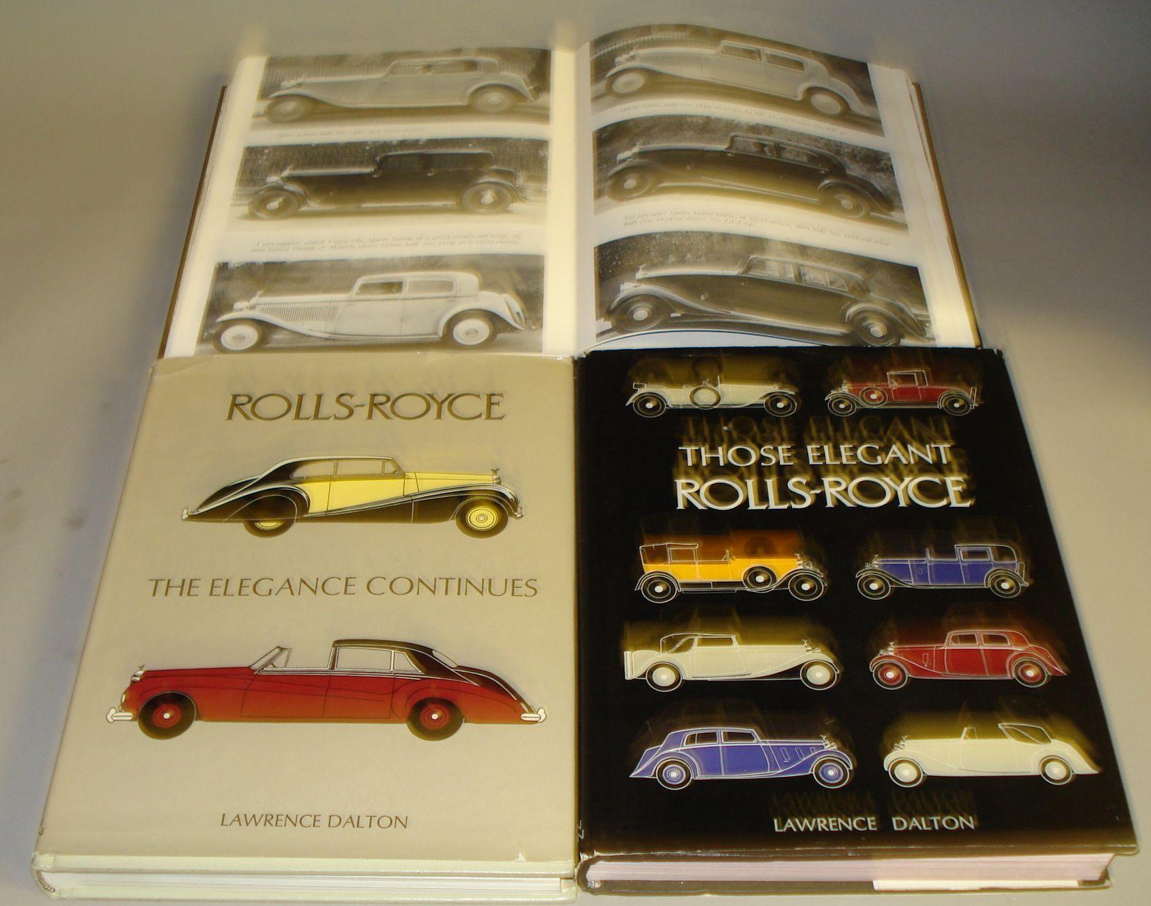 Three Dalton Watson Rolls-Royce publications,