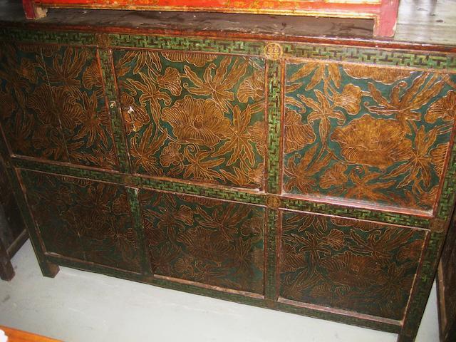 A Tibetan cabinet 18th century