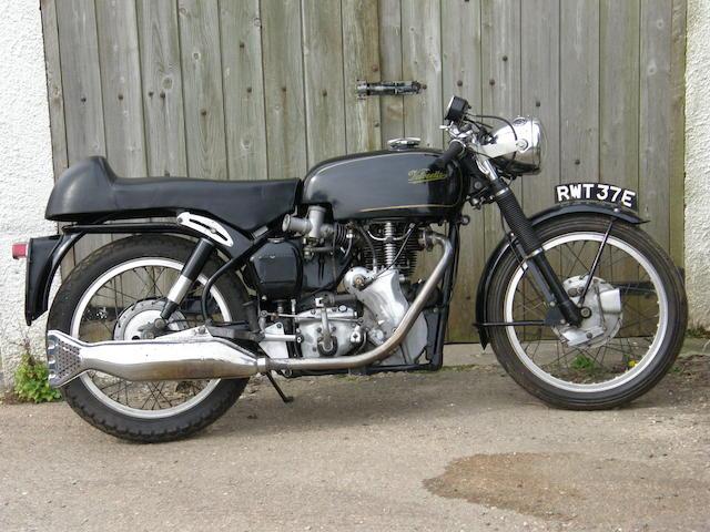 1966 Velocette 499cc Venom Thruxton Frame no. RS19148 Engine no. VMT 471