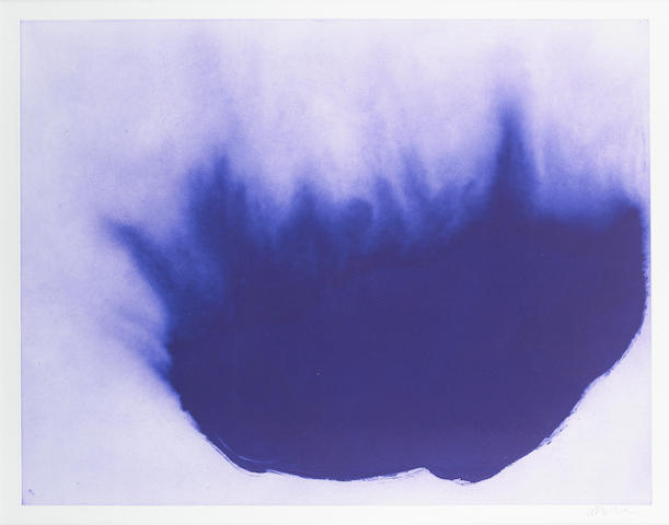 Anish Kapoor CBE RA (British, born 1954) Untitled (from 12 Etchings) Etching in colours, 2007, on 300gsm Somerset paper, signed and numbered 20/40, published by Paragon Press, London, with full margins, 770 x 899mm (30 3/8 x 35 3/8 in)(SH)