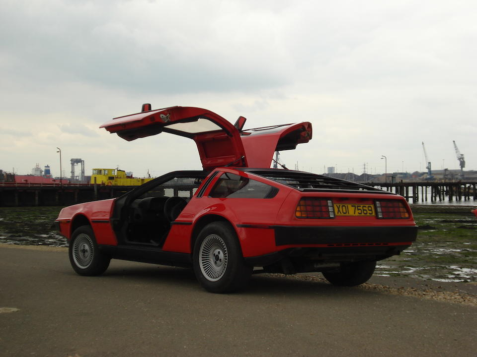 Property of The Right Hon Miranda Guinness, Countess of Iveagh,1981 De Lorean DMC12 Coupé  Chassis no. SCEDT26T8BD001906 Engine no. 1113