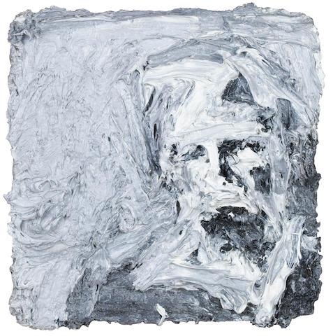 Frank Auerbach (German, born 1931) Head of E.O.W. III 31.7 x 30.5 cm. (12 1/2 x 12 in.)