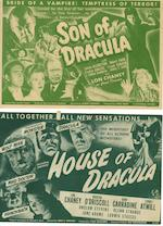 A collection of twelve 1940's Horror related Heralds,  titles including:12