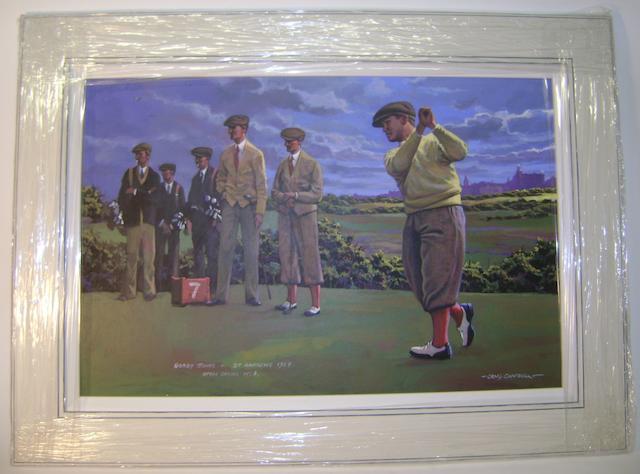 Campbell, Craig: Bobby Jones St. Andrews 1927