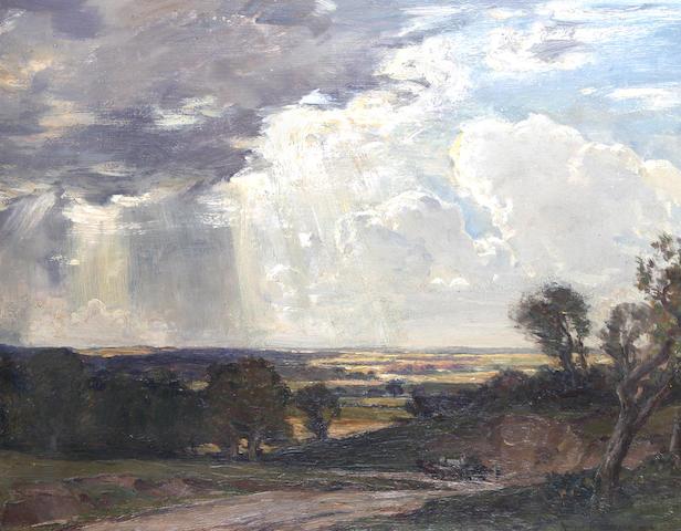 Arthur A. Friedenson (British, 1872-1955) 'The Quarry Road',