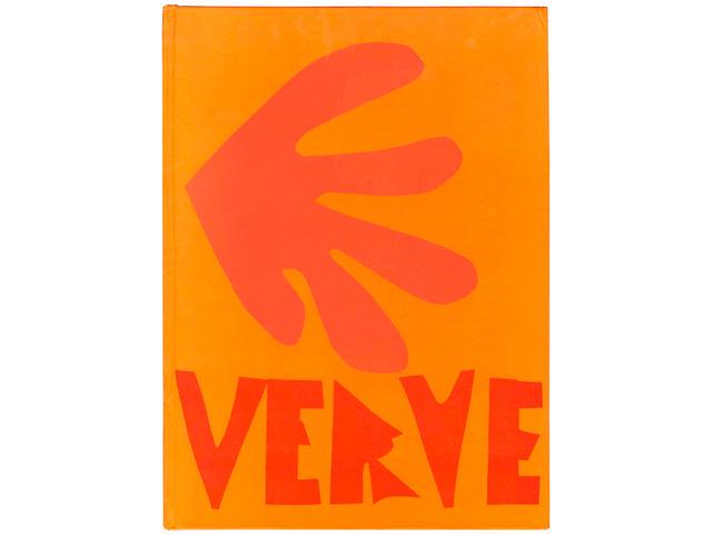 MATISSE (HENRI) VERVE. Revue artistique... vol. IX, nos. 35/36... Dernières oeuvres de Matisse 1950-1954