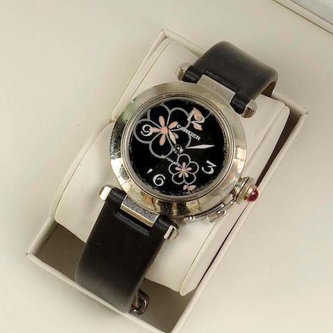 Cartier: A lady's automatic wristwatch