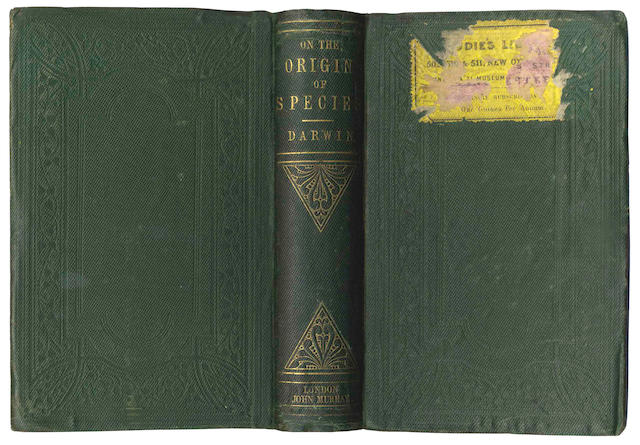 DARWIN (CHARLES) On the Origin of Species by Means of Natural Selection, FIRST EDITION