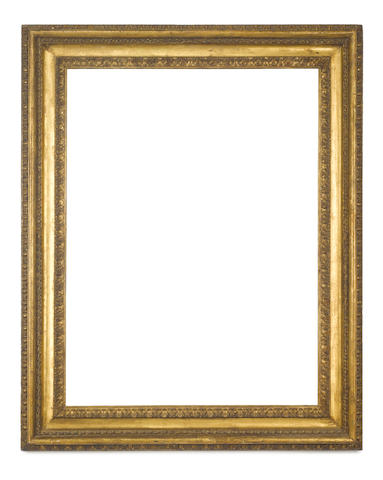An Italian 18th Century carved and gilded Salvator Rosa frame