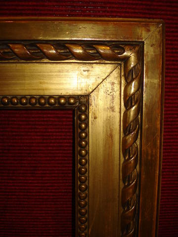 A French 19th Century Louis XVI style gilded composition frame