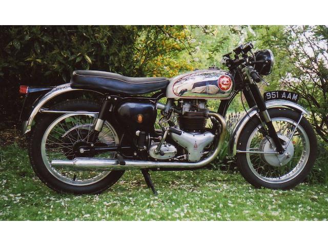 Single family ownership from new,1962 BSA 650cc Rocket Gold Star Frame no. GA10 155 Engine no. DA10 R 7016