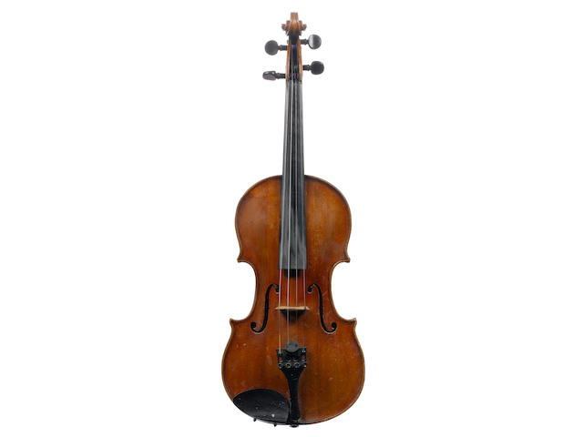 An Italian Violin by Guiseppe and Antonio Gagliano, Naples, 1801 (2)