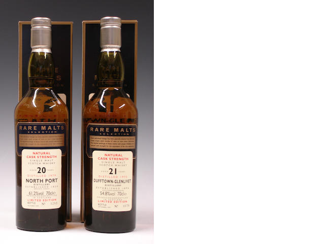 North Port-20 year old-1979Dufftown-Glenlivet-21 year old-1975