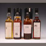 Rosebank-12 year oldClynelish-14 year oldCaol Ila-15 year oldMortlach-16 year old