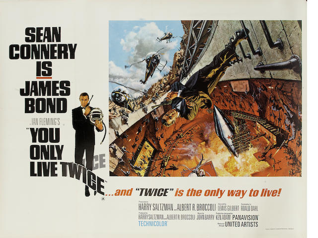 You Only Live Twice,  United Artists, 1967,