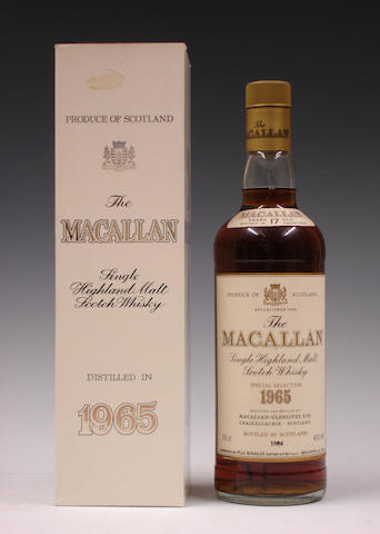 The Macallan-17 year old-1965