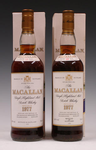The Macallan-18 year old-1977  The Macallan-18 year old-1977