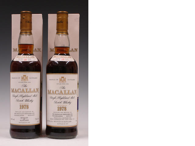 The Macallan-18 year old-1978The Macallan-18 year old-1978