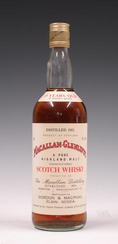 Macallan-Glenlivet-15 year old-1961